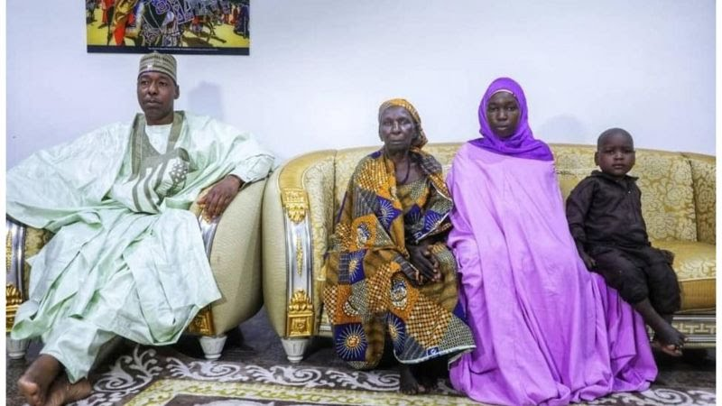 Chibok: The Man Who Returned With Ruth Pogu Is Not Her Husband